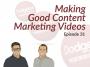 Artwork for Dodgeball Marketing Podcast #31: How to Make Good Content Marketing Videos