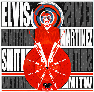 Elvis Martinez Smith - Music Is The Weapon Of The Future