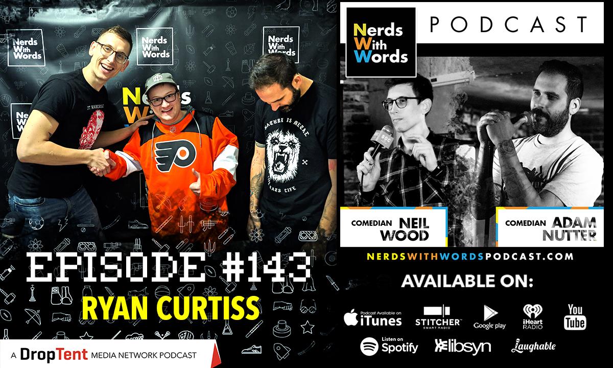 Episode #143 - Ryan Curtiss show art