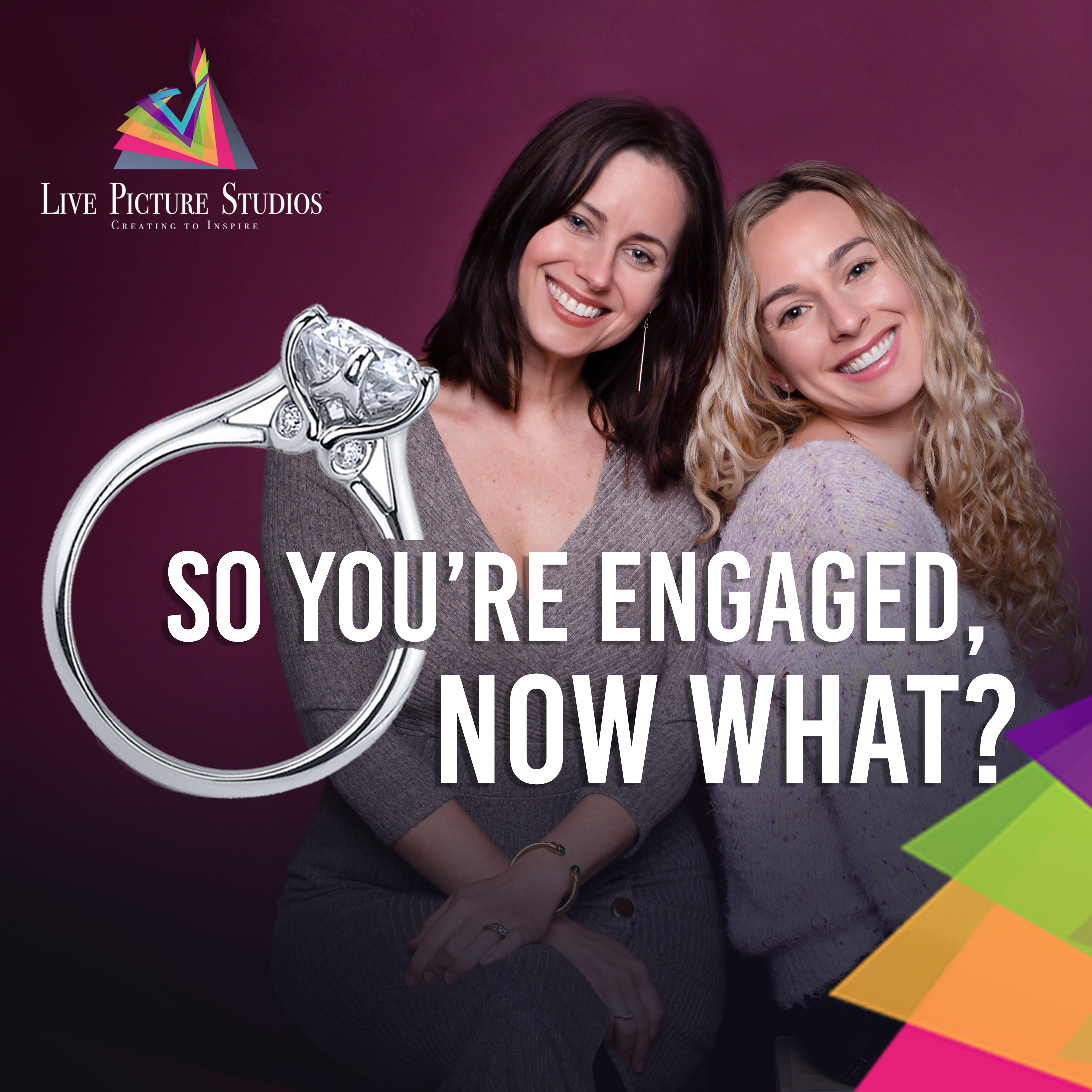 So You're Engaged, Now What? show art