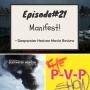 Artwork for Episode#21 Manifest! plus Deepwater Horizon movie review