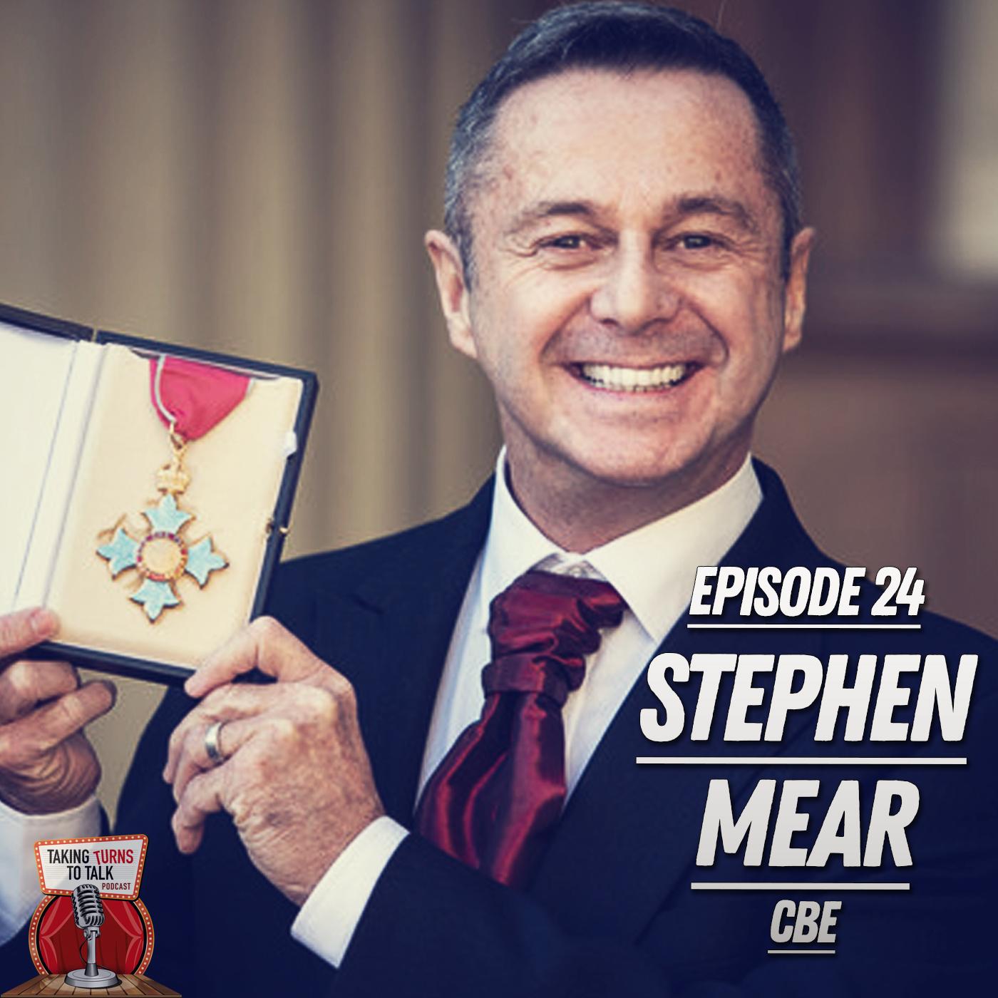 Artwork for #24 Stephen Mear CBE