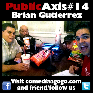 Public Axis #14: Brian Gutierrez