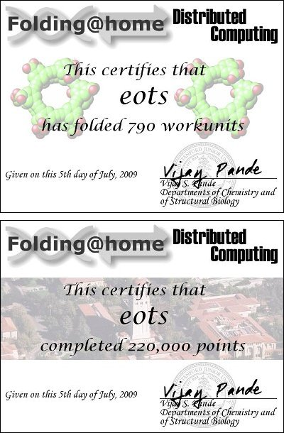 Folding@home is a distributed computing project.