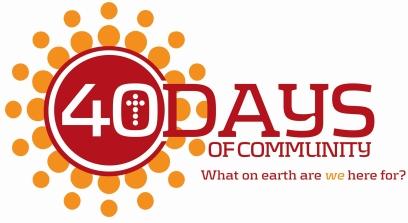 40 Days of Community - Serving Together