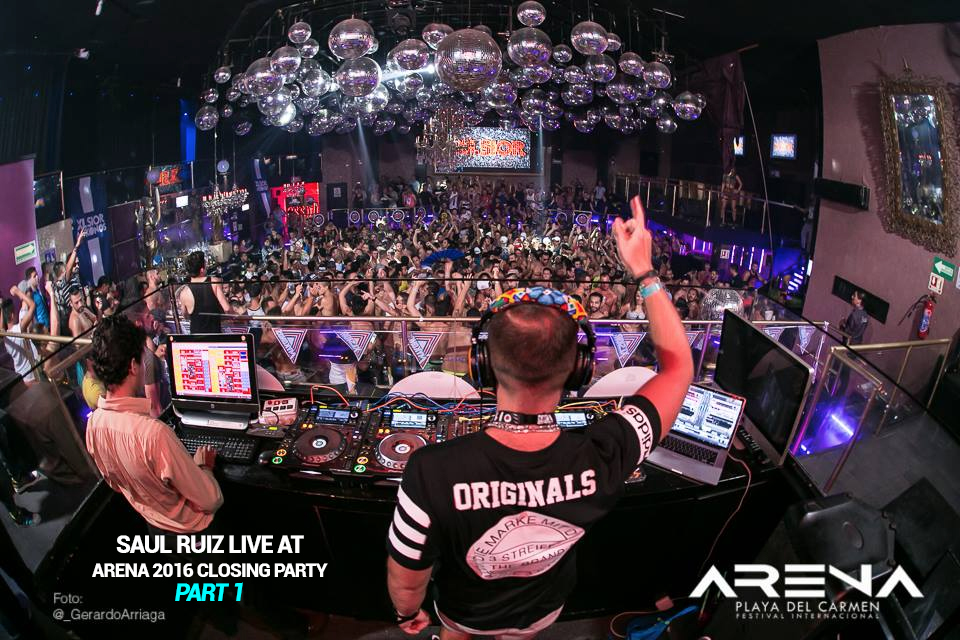 Live at Arena 2016 closing party by XLsior Mykonos Part 1