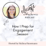 Artwork for How I Prep My Wedding Planning Business for Engagement Season