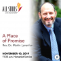 Artwork for 'A PLACE OF PROMISE' - A message by Rev. Dr. Marlin Lavanhar (Humanist Service)