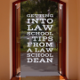 Artwork for Getting Into Law School - Tips from a Law School Dean