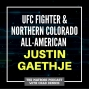 Artwork for UFC fighter and Northern Colorado All-American Justin Gaethje