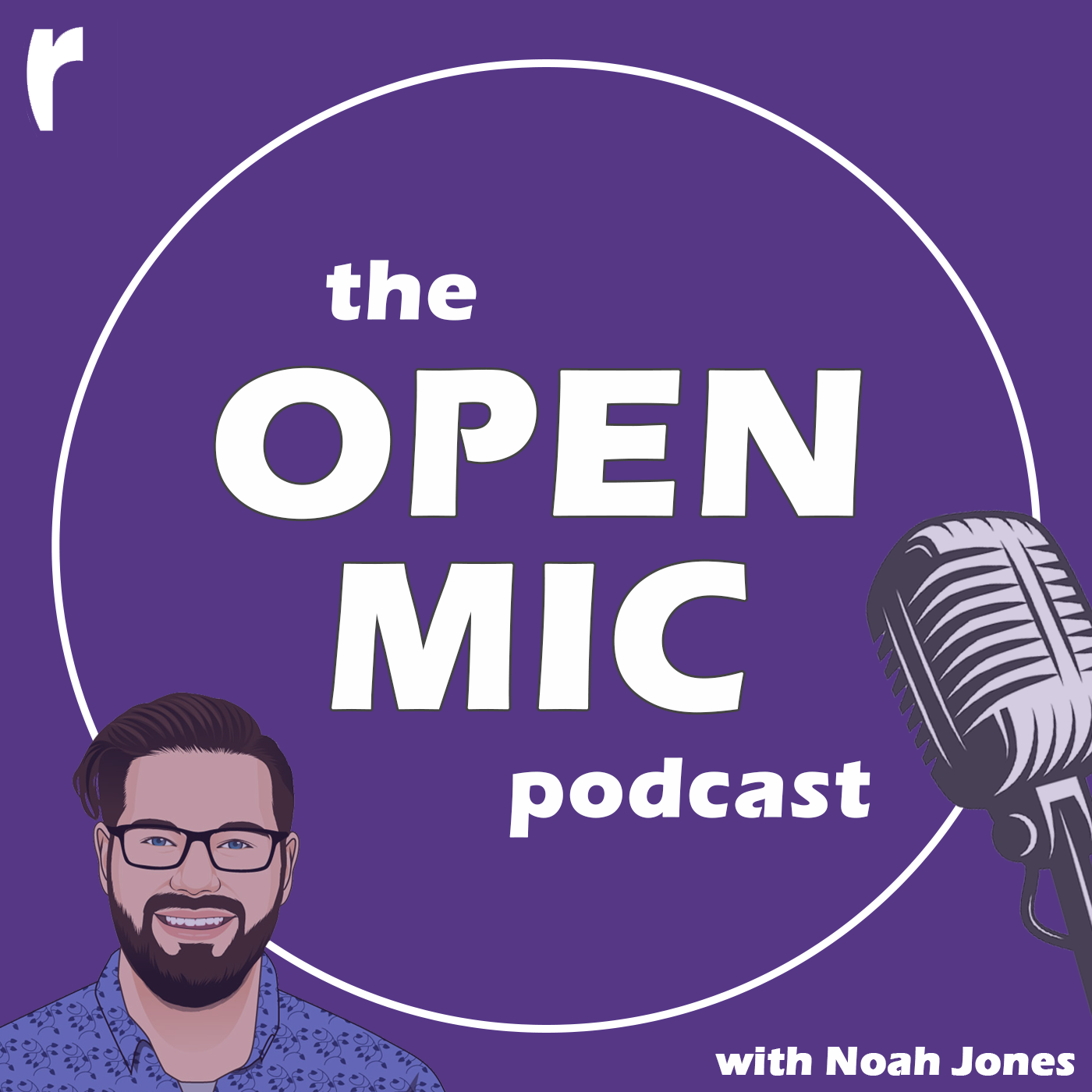 The Open Mic Podcast show art