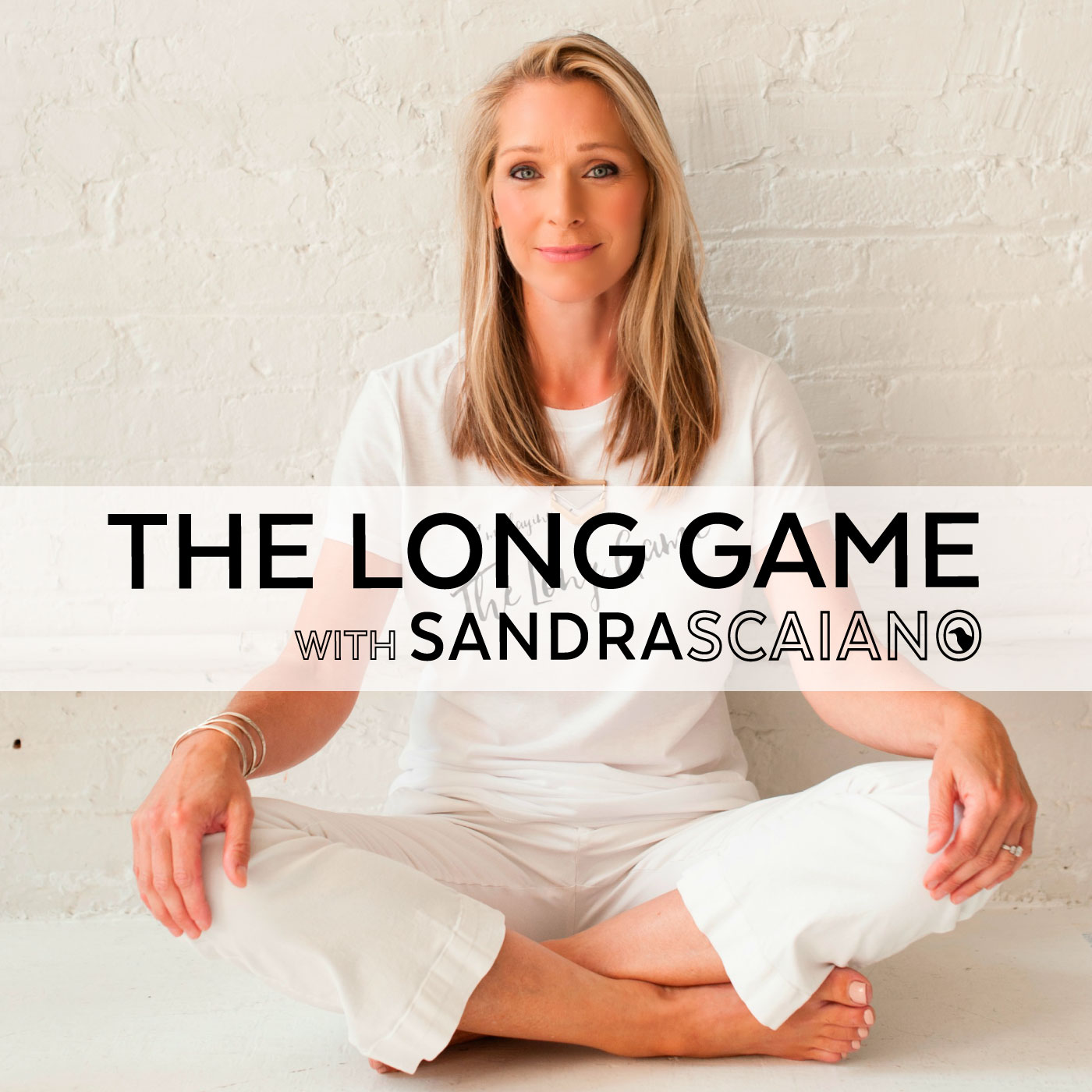 The Long Game Podcast with Sandra Scaiano show art