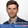 Artwork for #043 Daan Kolkman - Is data de nieuwe olie of is het de zoveelste hype?