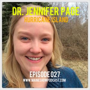 Episode 027 - Dr. Jennifer Page of Hurricane Island