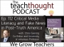 Artwork for The TeachThought Podcast Ep. 112 Critical Media Literacy and Fake News in Post-Truth America