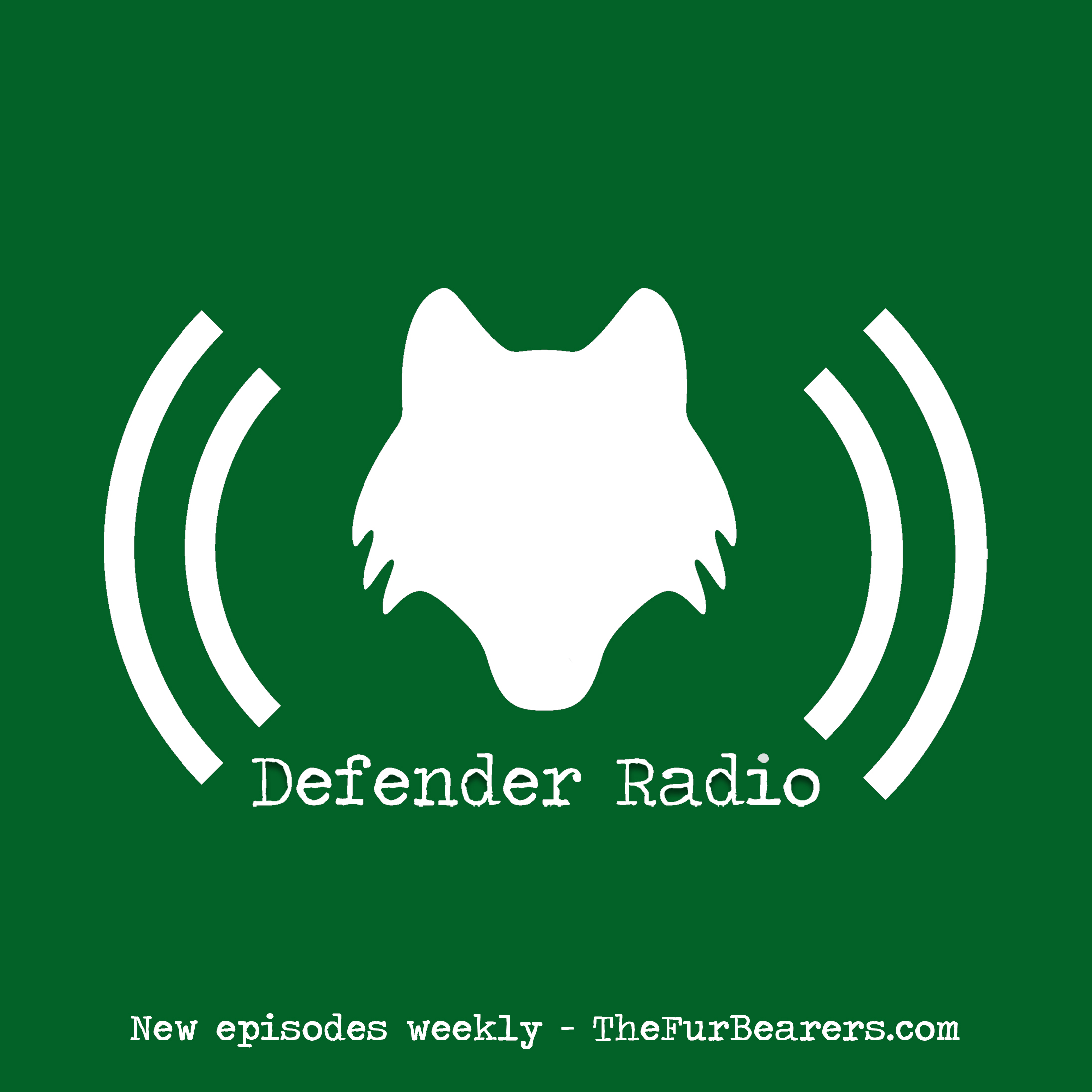 Defender Radio: The Podcast for Wildlife Advocates and Animal Lovers logo