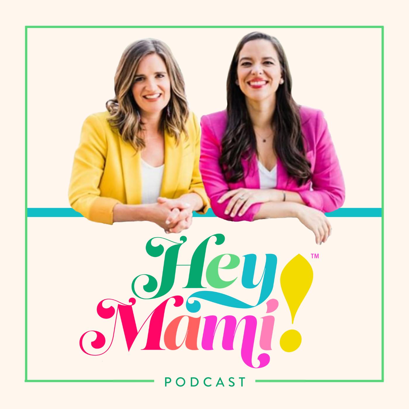 Hey Mami Podcast show art