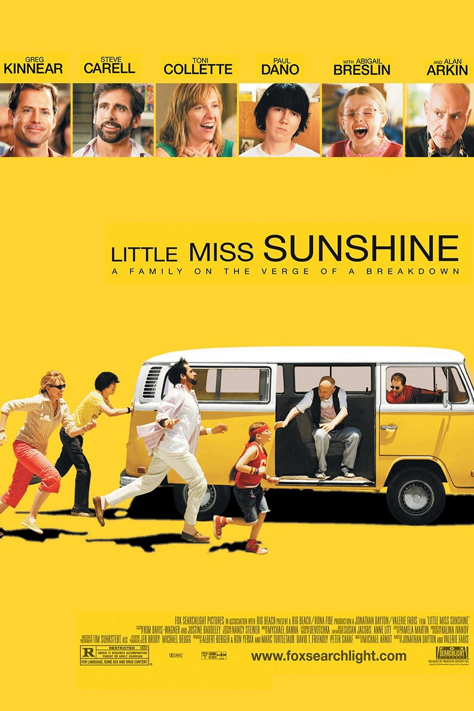 "Family Dynamics as shown in the film ""Little Miss Sunshine"""