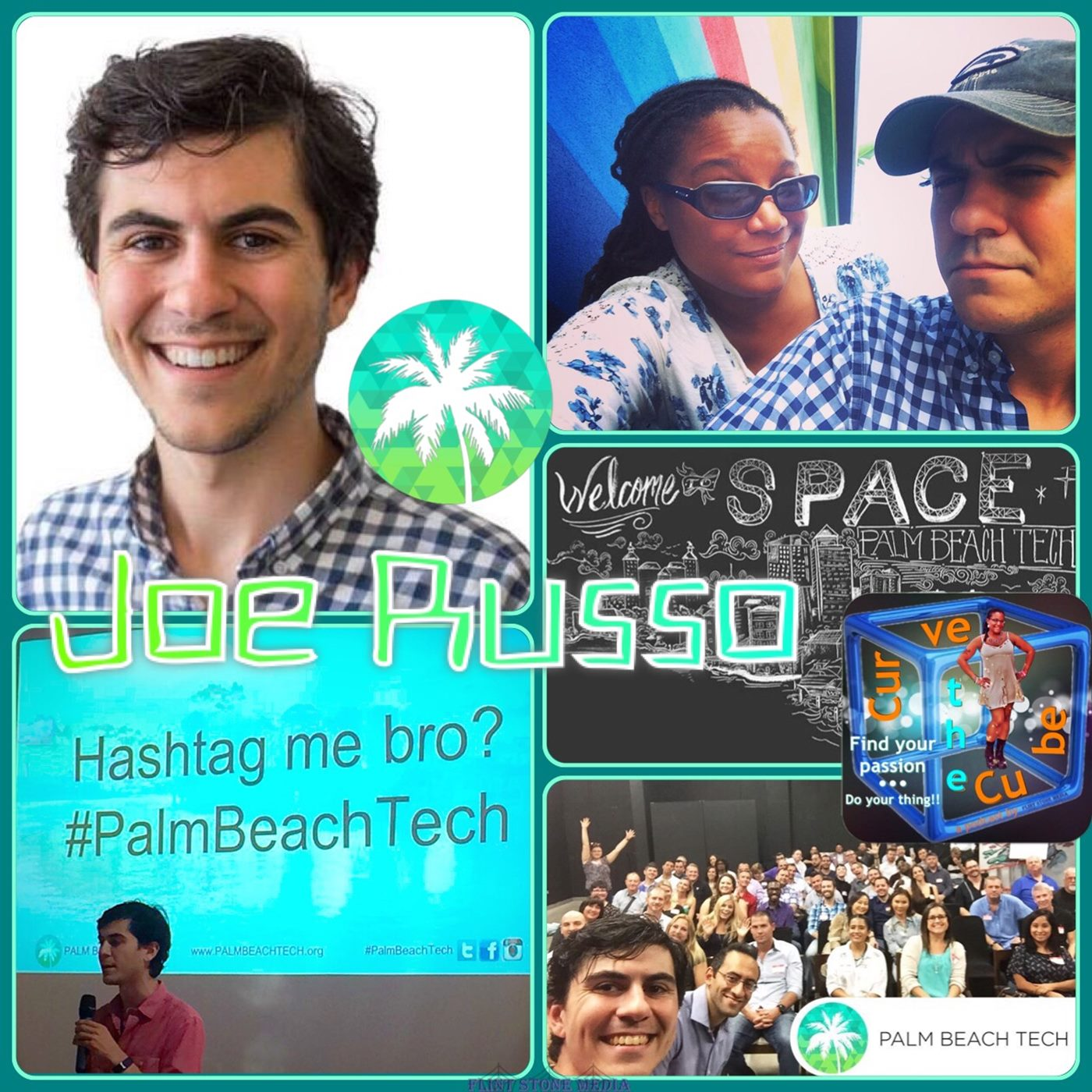Executive Director of Palm Beach Tech Joseph R Russo on the Curve the Cube Podcast
