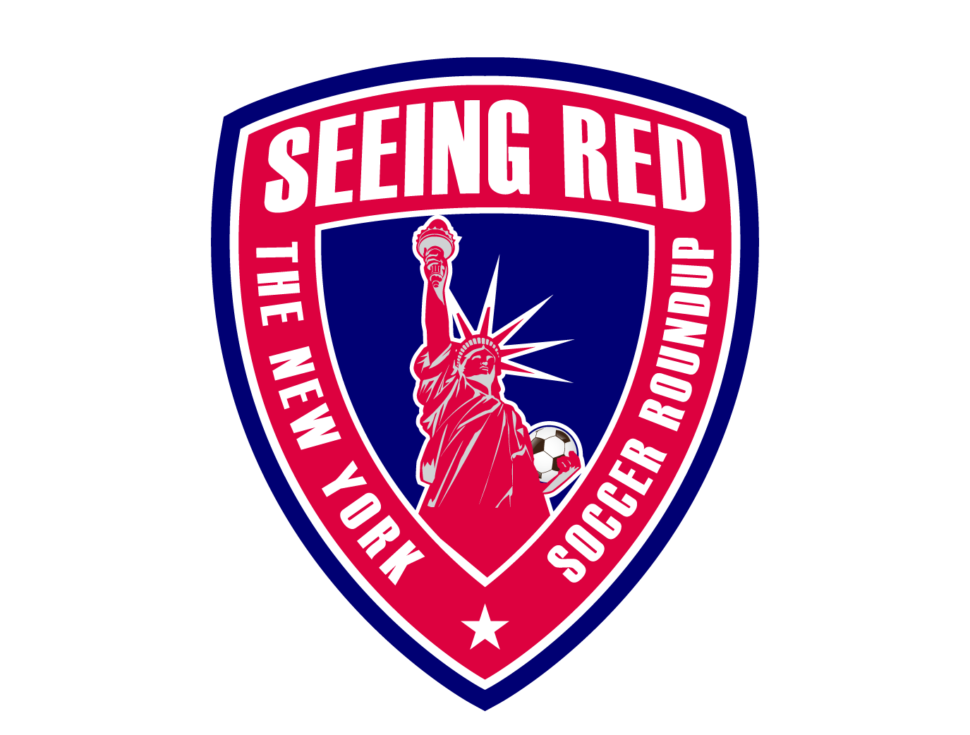 Seeing Red! The NY Soccer Roundup show art