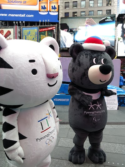 PyeongChang 2018 Winter Olympic and Paralympic mascots