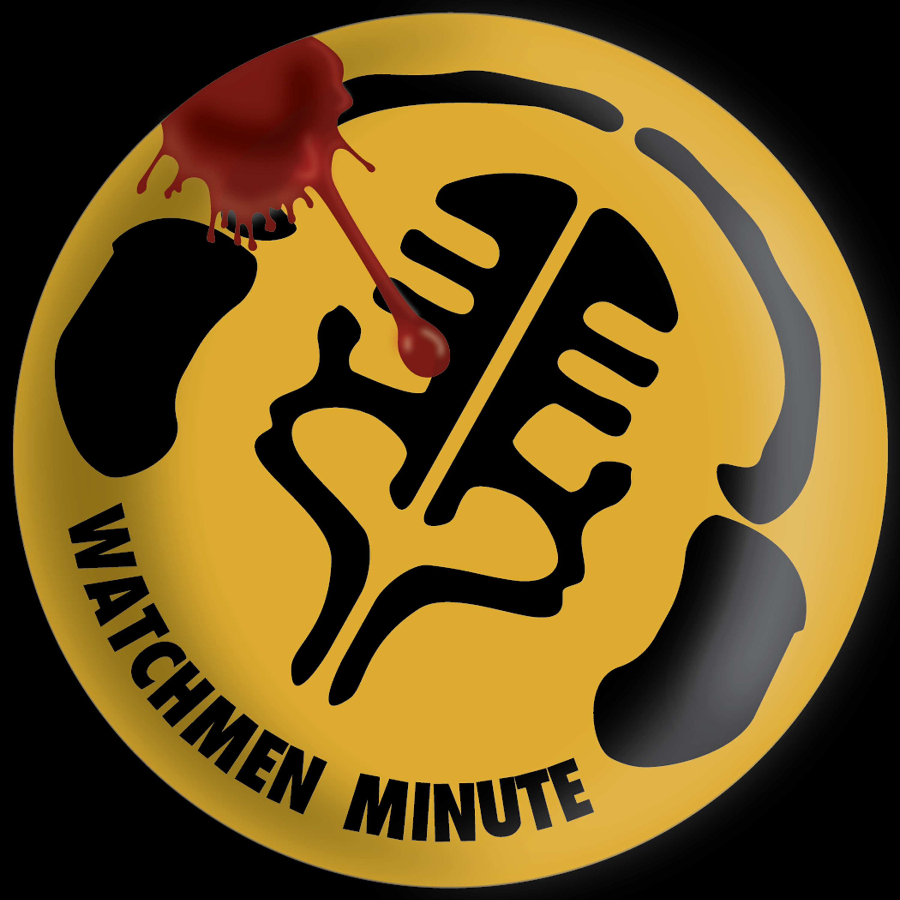 Artwork for Watchmen Minute 001 - Black and Yellow