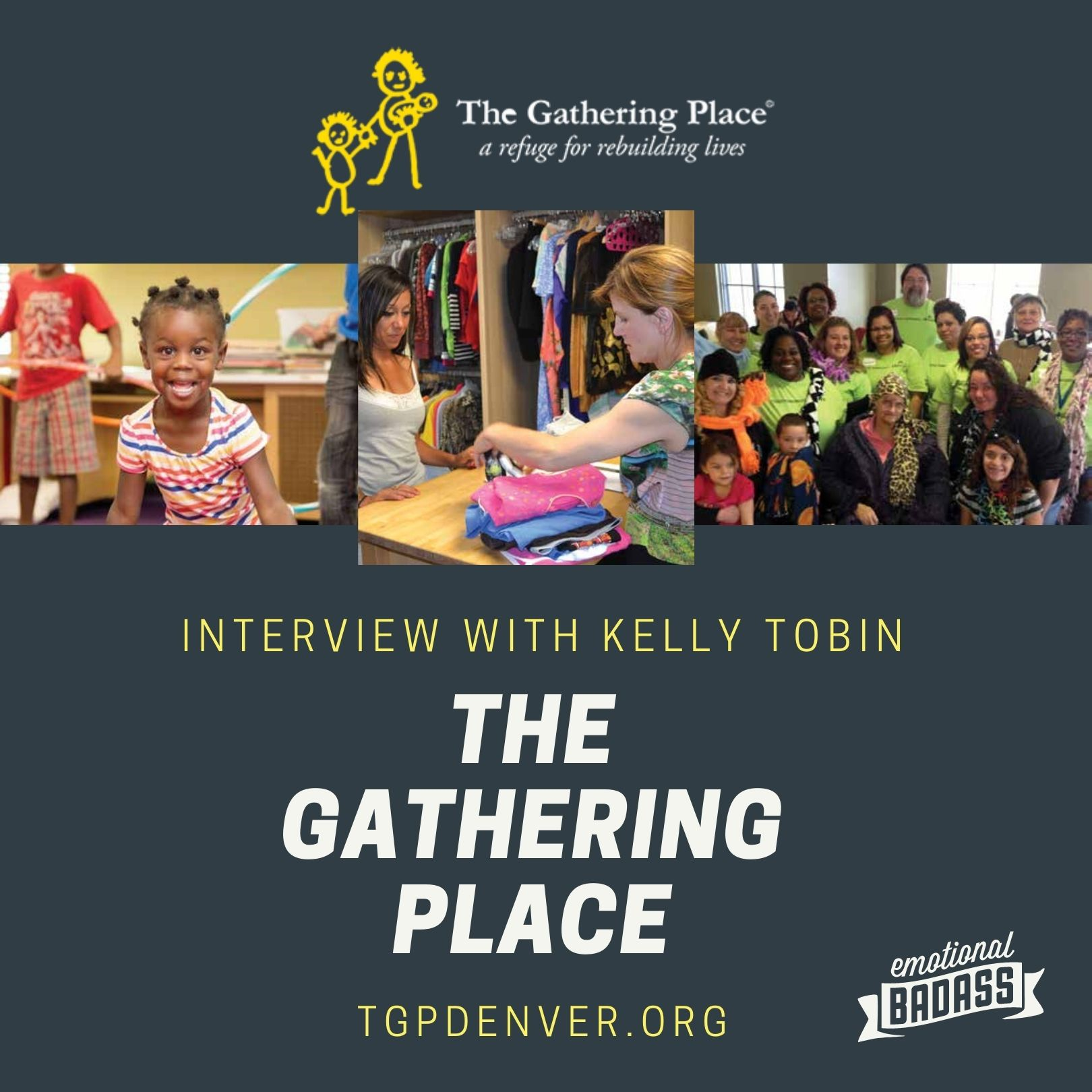 Interview with The Gathering Place - Kelly Tobin