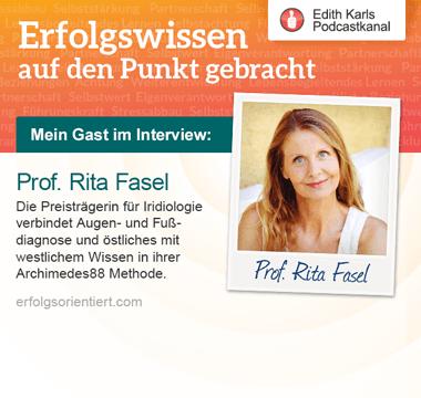 056 - Im Gespräch mit Rita Fasel