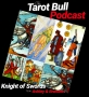 Artwork for The Tarot Bull Podcast: The Knight of Swords & Sixes