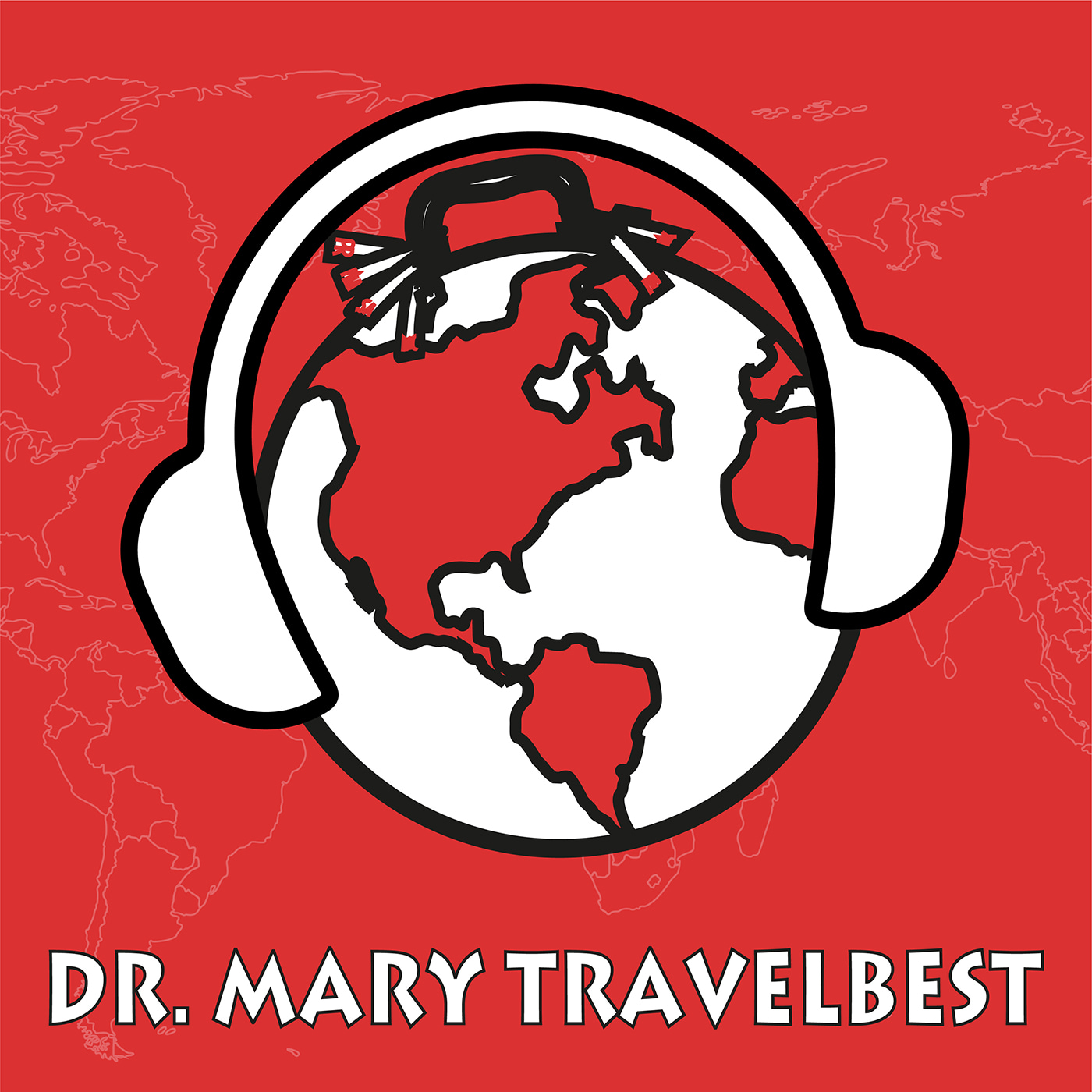 Dr Mary Travelbest Guide show art