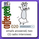 CG Podcast 020 - Emails and Radio!