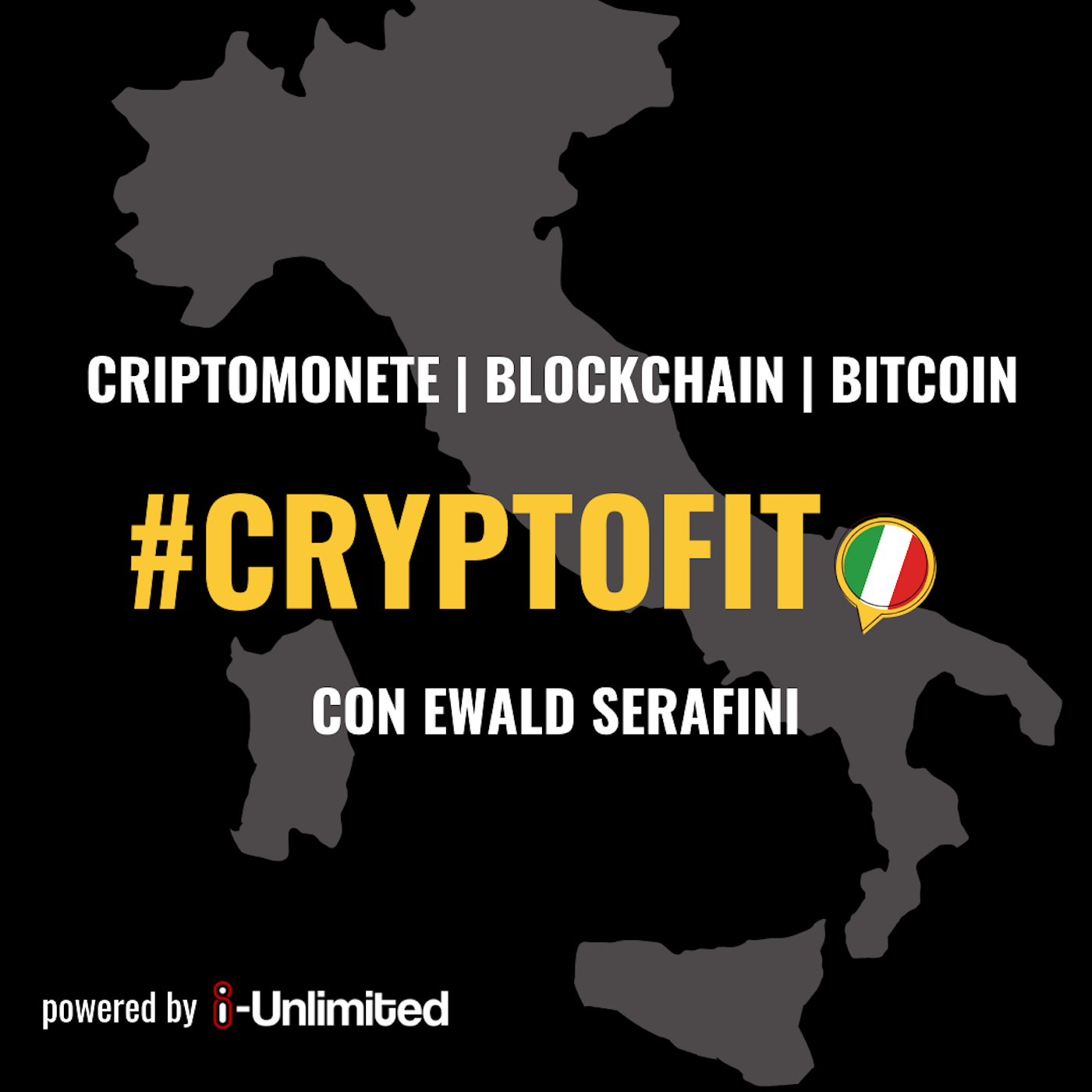 Cryptofit Italia Podcast - Criptomonete, Blockchain, Bitcoin