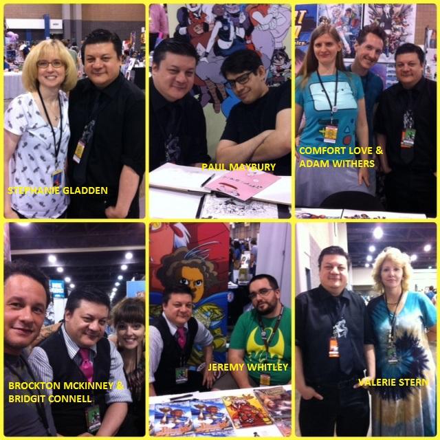 Episode 548 - More Heroes Con w/ Stephanie Gladden, Paul Maybury, Adam Withers/Comfort Love, Bridgit Connell/Brockton McKinney, Jeremy Whitley, Valerie Stern