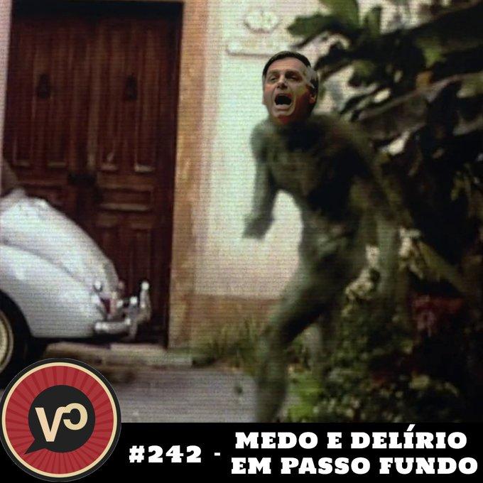#242 – Medo e Delírio em Passo Fundo – com Cristiano Botafogo e Pedro Daltro