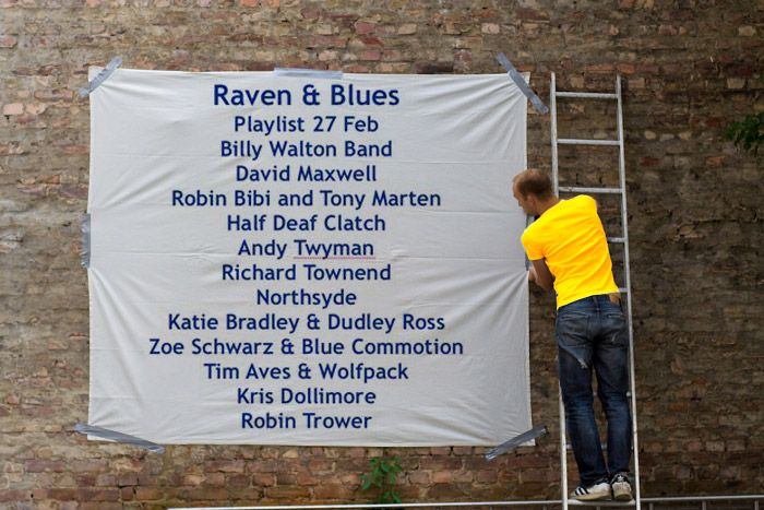 Raven and Blues 27 Feb 2015