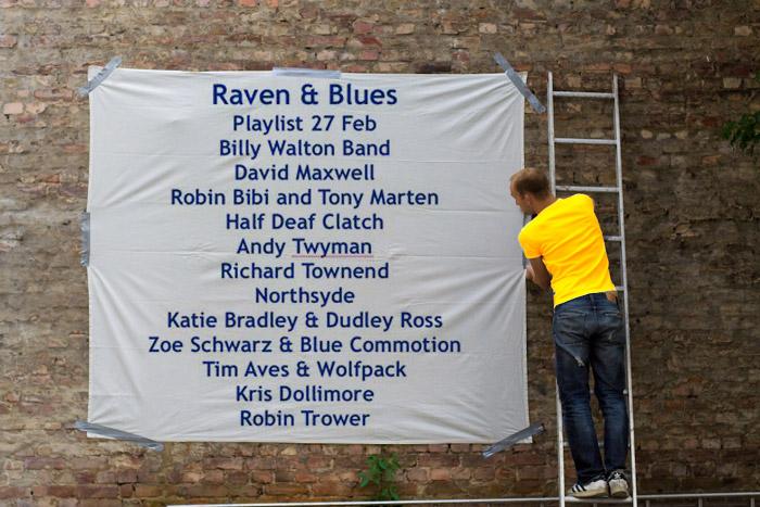 Raven and Blues 27 Feb 2015