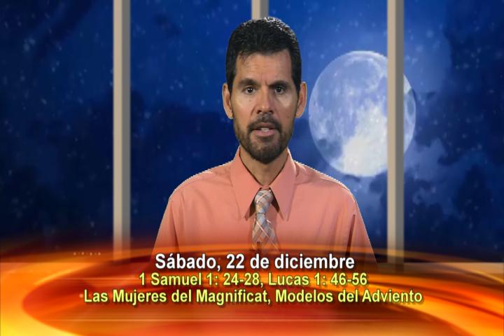 """Artwork for Dios te Habla con Jose Luis Elias; Tema el hoy: """"Ana y María, las Mujeres del Magnificat, modelos del Adviento"""""""