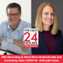Artwork for #48: Returning to Work More Authentically and Inclusively after COVID-19 - with Julie Kratz