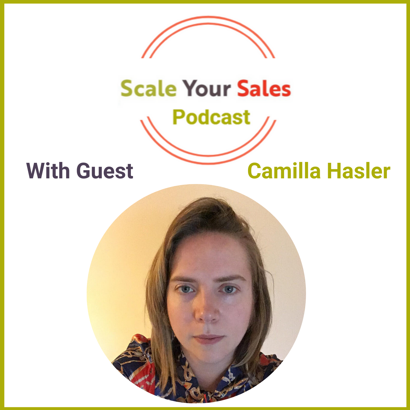 Episode 013 - Camilla Hasler Assumptions Don't Sway Investors or Customers
