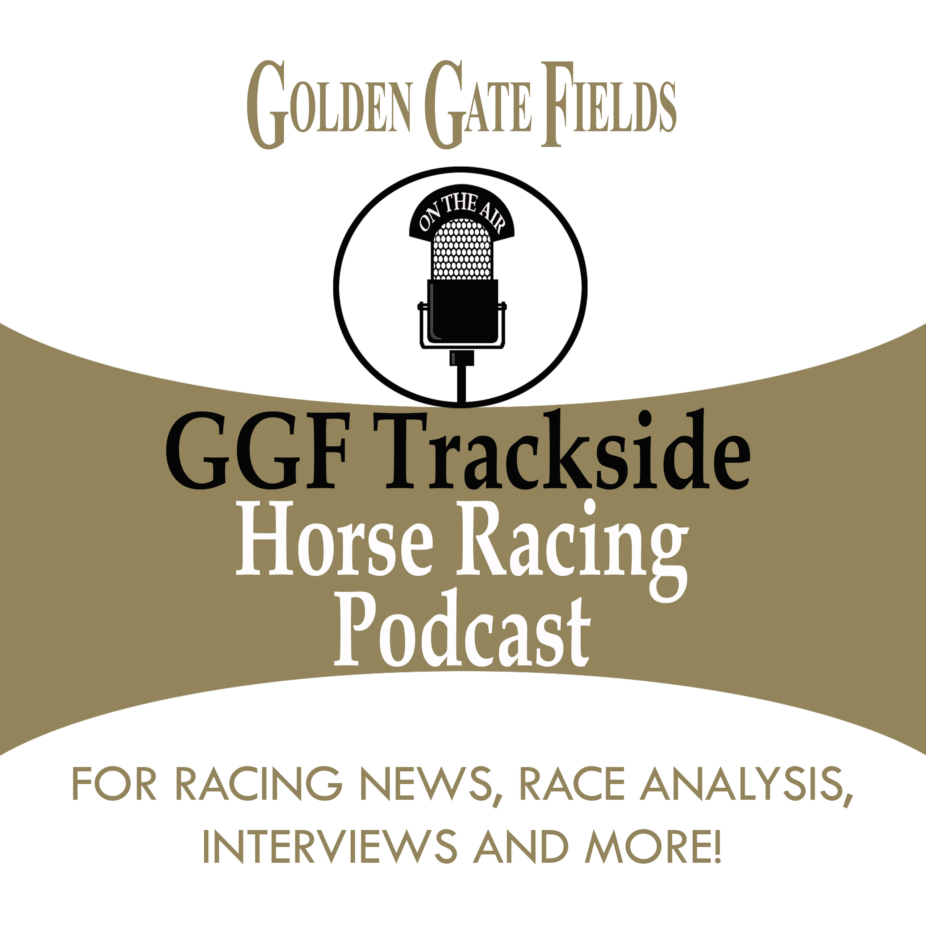 GOLDEN GATE FIELDS' PODCAST logo