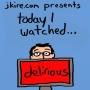 Artwork for Movie Review: Delirious (1991)
