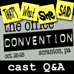 Convention Special # 1 -- Cast Q&A