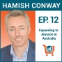 Artwork for How to Sell on Amazon in Australia with Hamish Conway, Ep #012