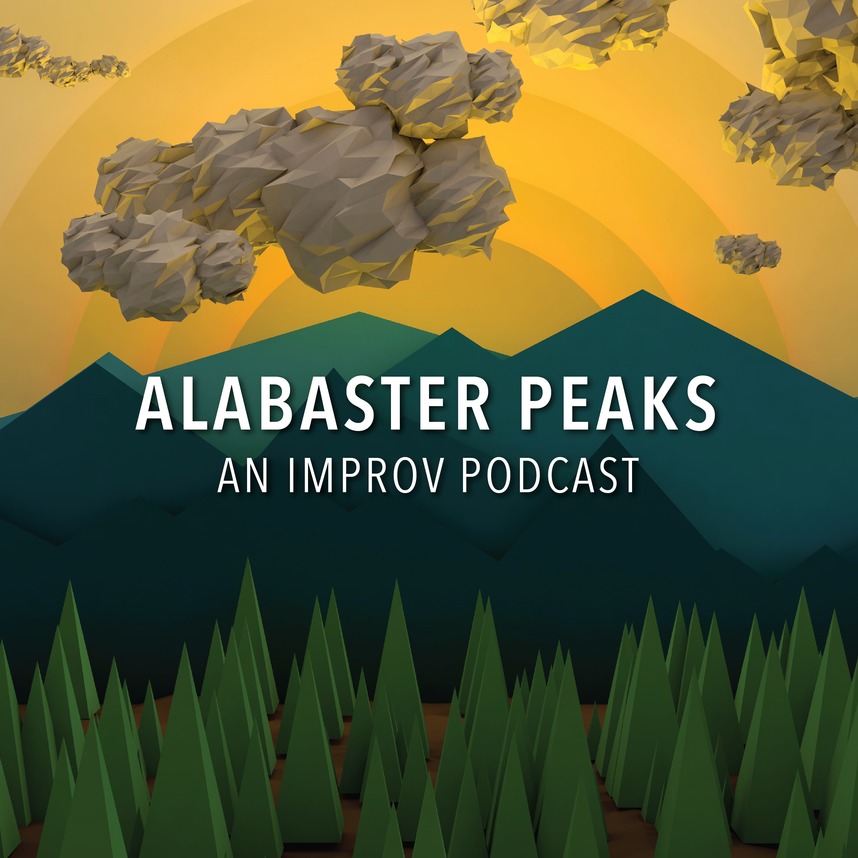 Alabaster Peaks - An Improvised Podcast show art