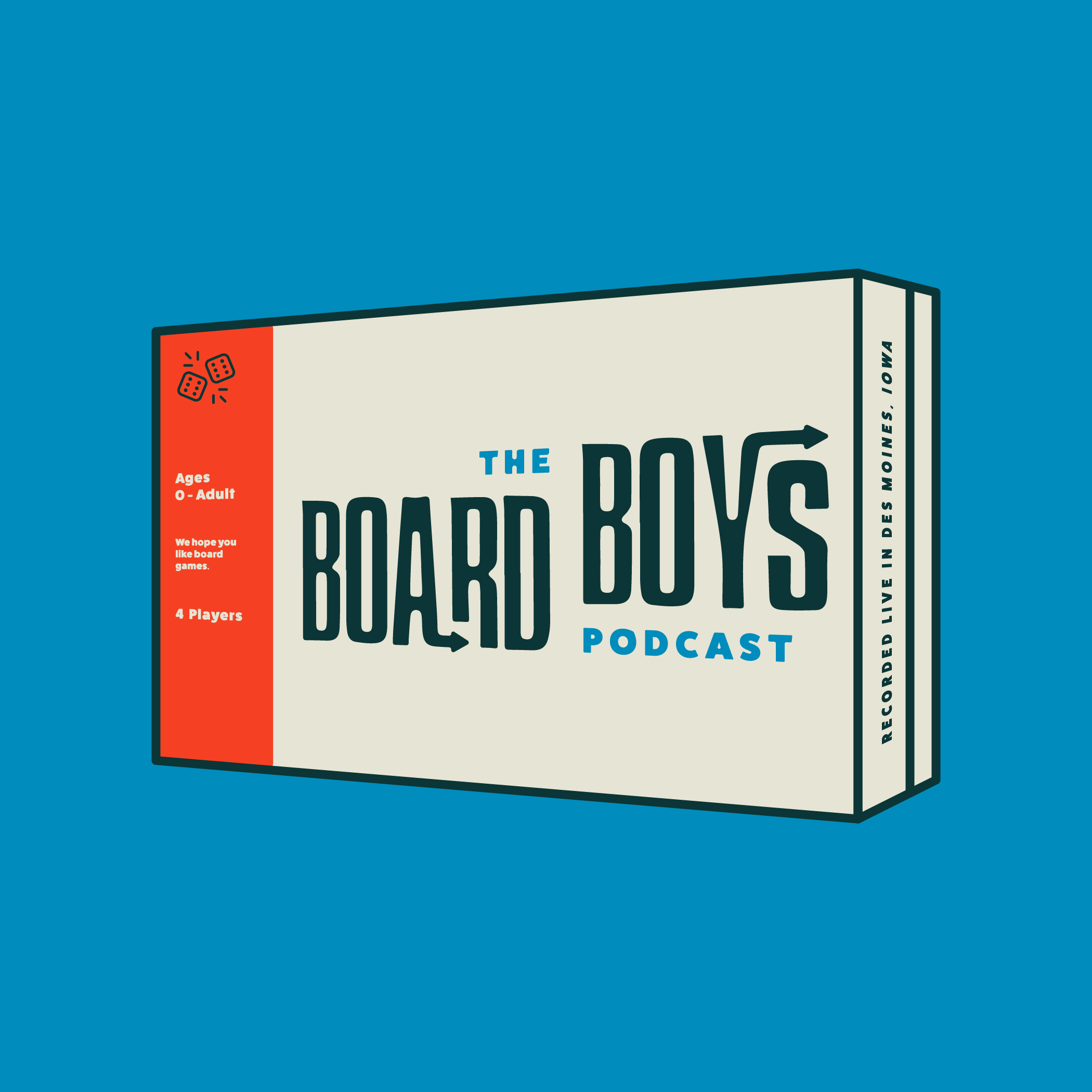 The Board Boys Podcast show art