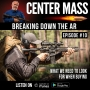 Artwork for Center Mass #10 - Breaking down the AR - What we need to look for when buying