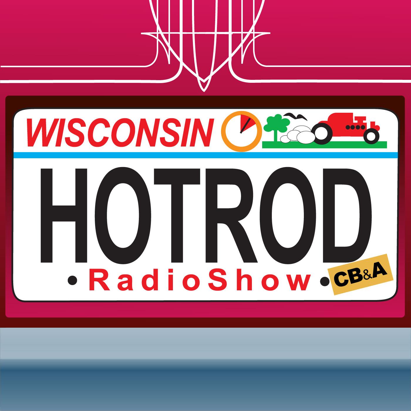Wisconsin Hot Rod Radio show art