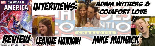 Episode 205 - Heroes Con Recap with Leanne Hannah, Mike Maihack & Adam Withers/Comfort Love