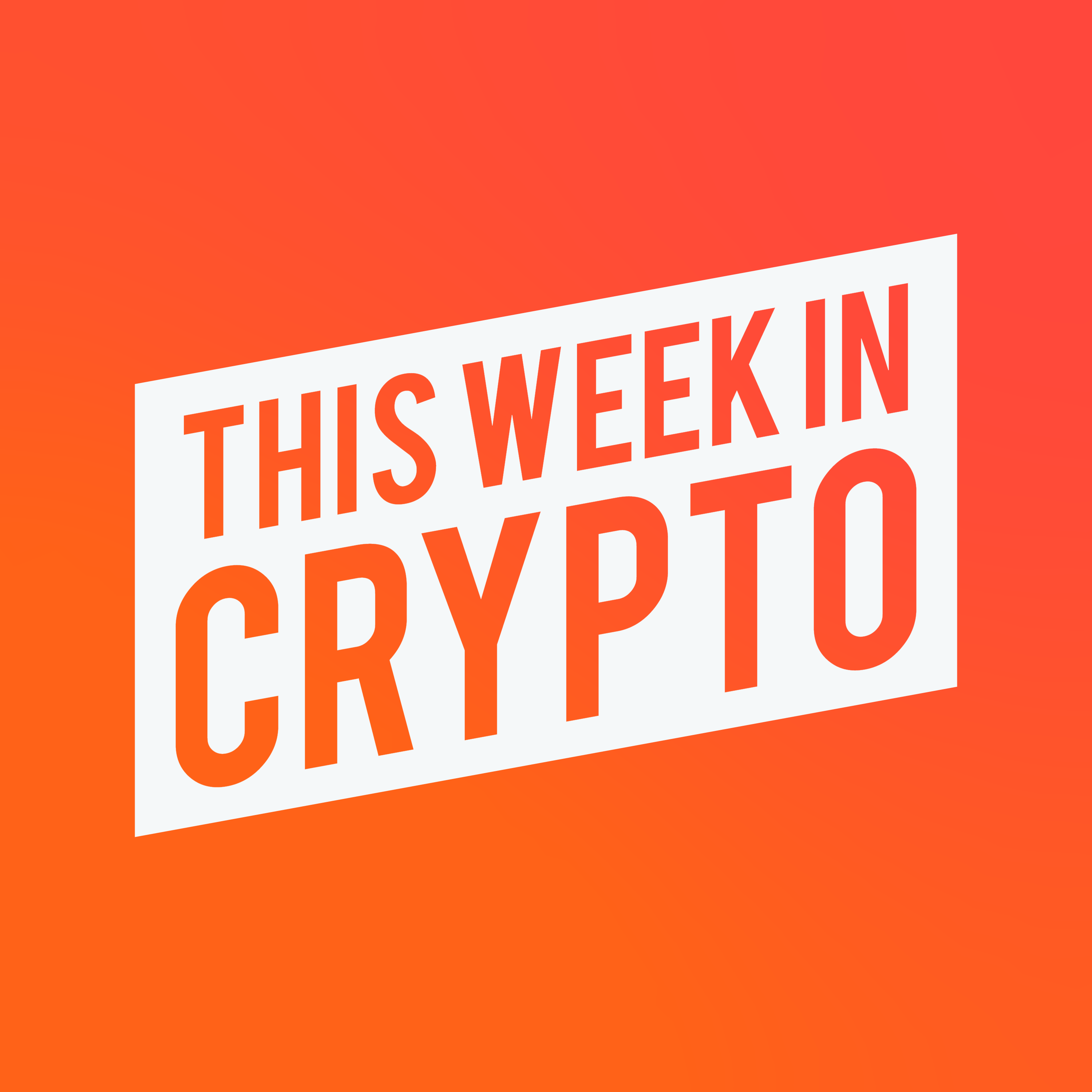 This Week in Crypto show art