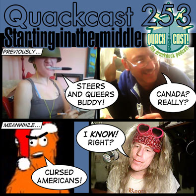 Quackcast 253 - narrative order and the flashback